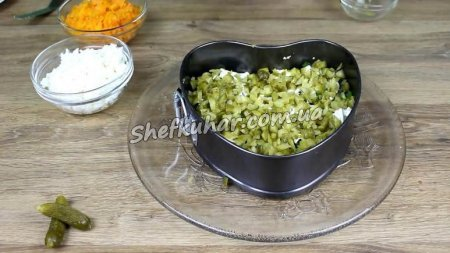 Салат з печінки тріски