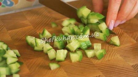 Салат з крабових паличок і кукурудзи за 5 хвилин