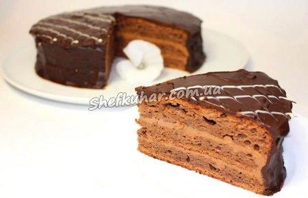 Класичний празький торт