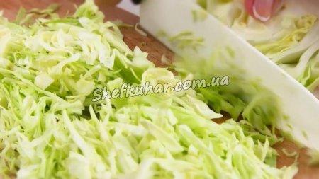 Салат французький зі смаженою картоплею