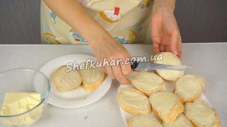 Святкові кучеряві бутерброди