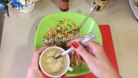 Салат зі свіжою капустою