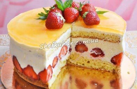 Торт Фрезьє
