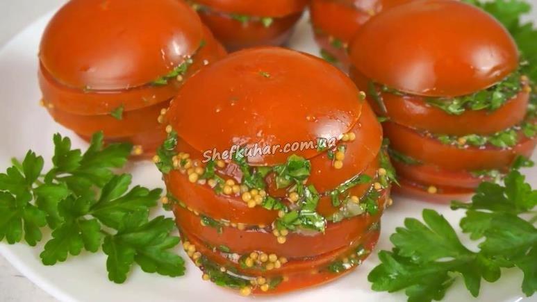 маринування помідорів рецепт
