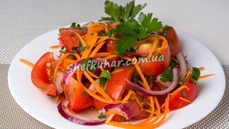 Салат зі свіжих помідорів