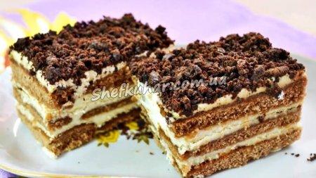Торт з пряників без випічки