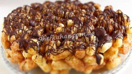 Швидкий торт із кукурудзяних паличок