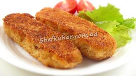 Картопляні палички з сиром