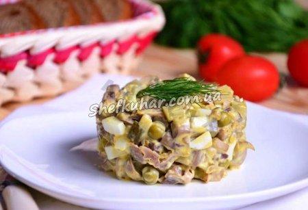 Швидкий салат із двох інгредієнтів