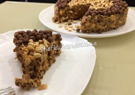 Торт без борошна і випічки