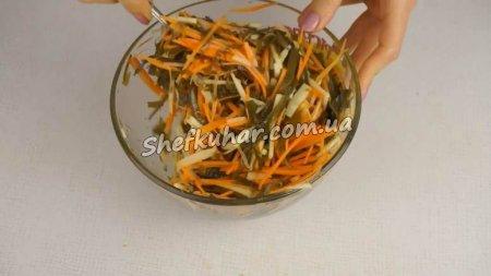 Салат з морською капустою за 5 хвилин