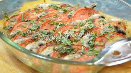 Гаряча грецька закуска