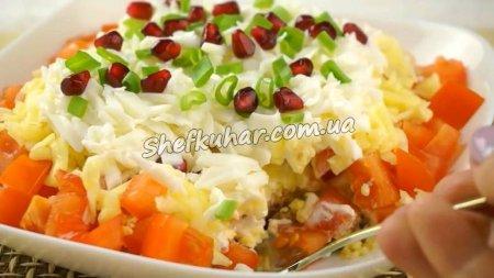 Новорічний салат з тунцем