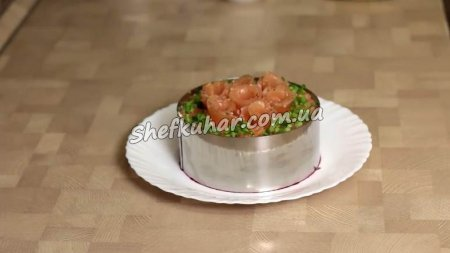 Святковий салат з риби