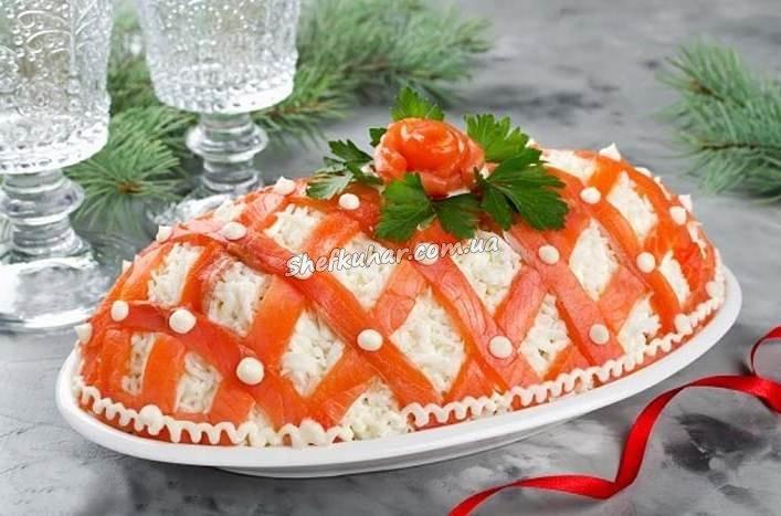 Святкові салати на Новий рік 2019