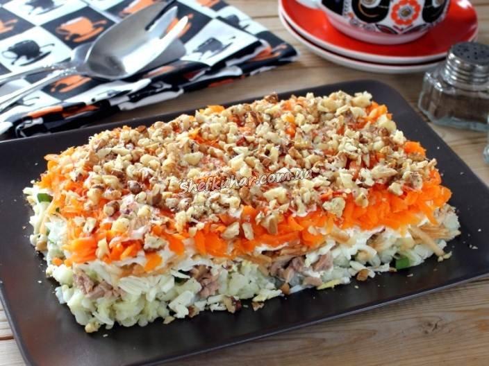 Новорічні салати 2019 до святкового столу
