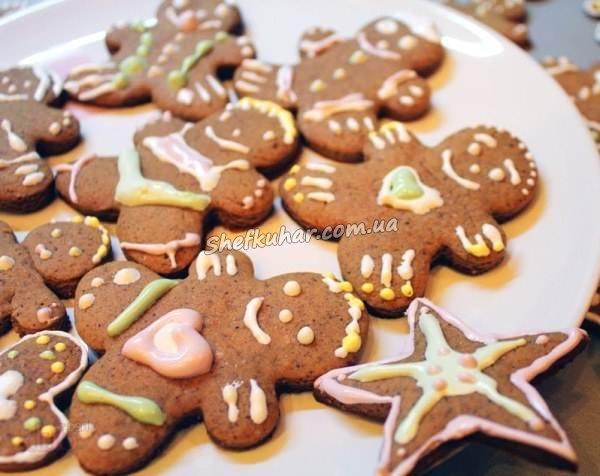Печиво на Новий рік 2019