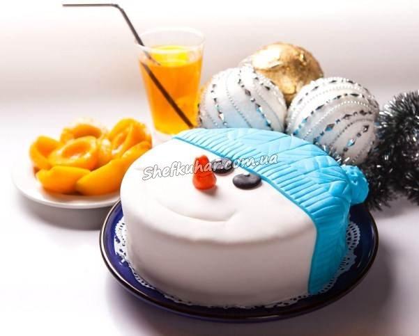 Торт на Новий рік 2019