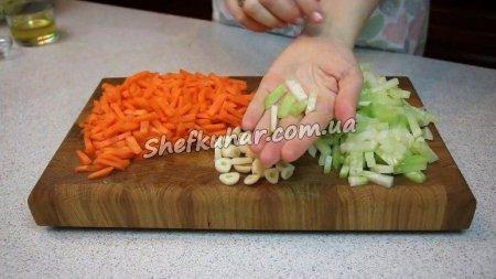 Салат з овочів по-корейськи
