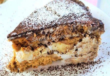 Торт з вівсяного печива