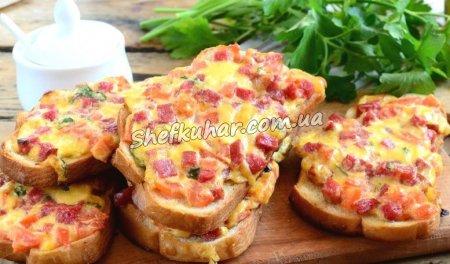 Бутерброди на сковороді