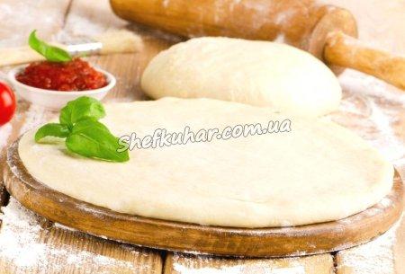 Тонке тісто для піци