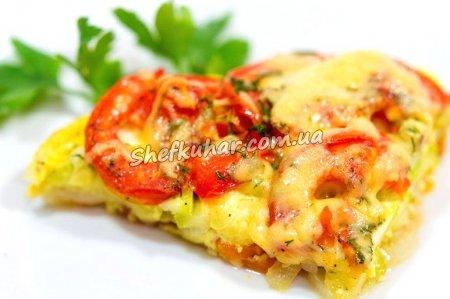 Картопляна запіканка з овочами на вечерю