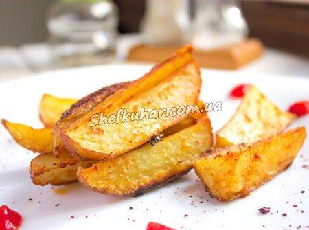 Картопля по-домашньому в духовці
