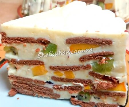 Дуже смачний торт без клопоту