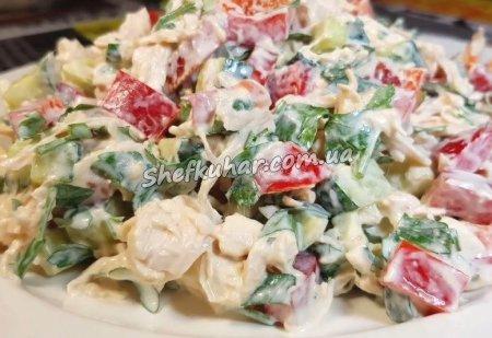 Простий салат на кожен день