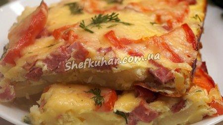Картопляна піца-пиріг