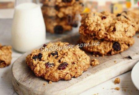 Вівсяне печиво з шоколадом