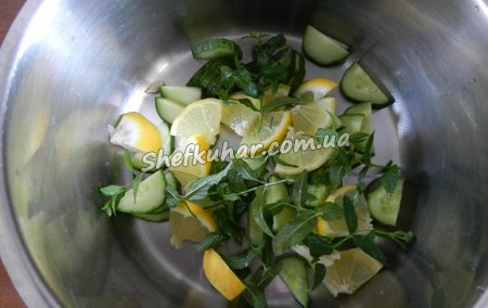 Процес приготування Літнього освіжаючого напою - Фото 9