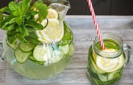 Літній освіжаючий напій