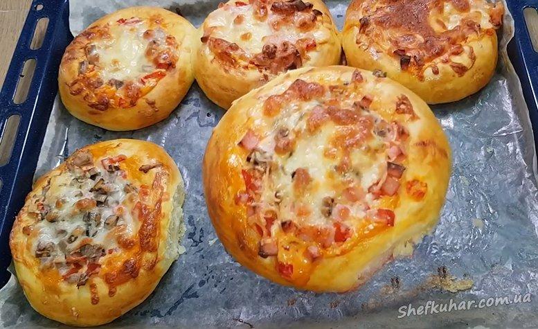 Міні-піци для швидкого перекусу