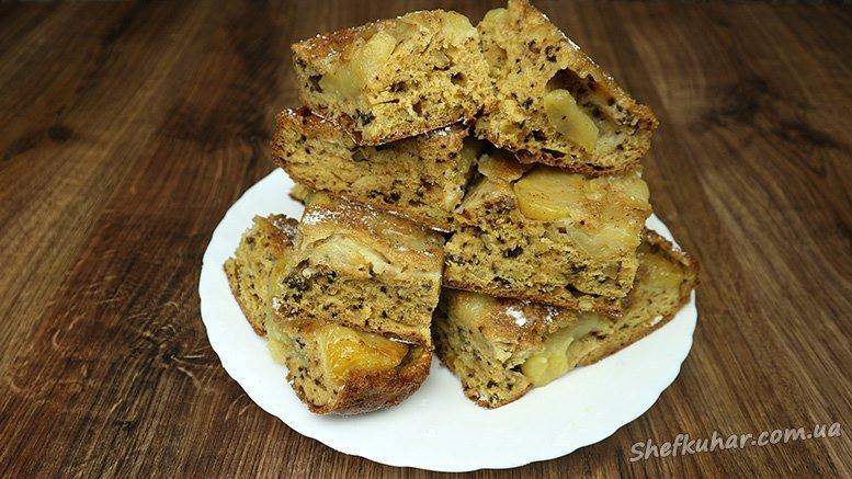 Яблучний пиріг у духовці