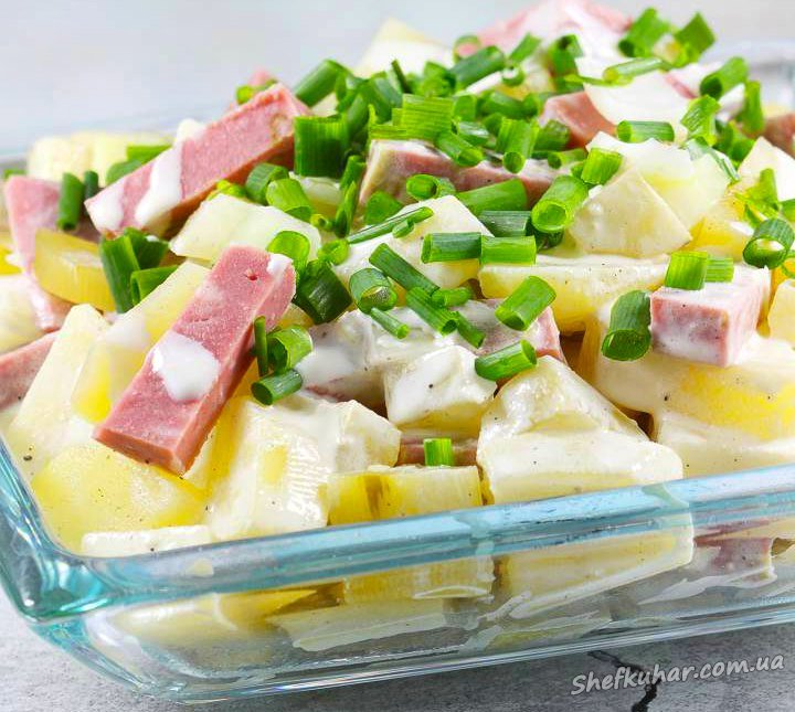 Швабський картопляний салат