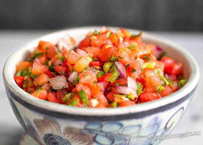 Як приготувати соус сальса