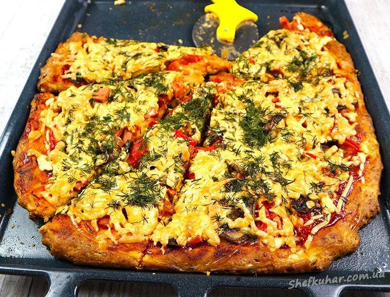 Як приготувати піцу в духовці вдома